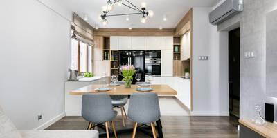 Apartamnet Dąbie: styl , w kategorii Jadalnia zaprojektowany przez Partner Design