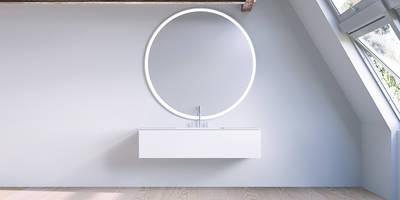 Copenhagen  Bath - SQ2 cabinet design by Mikal Harrsen:   von Copenhagen Bath