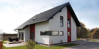 Casas de estilo moderno por FingerHaus GmbH