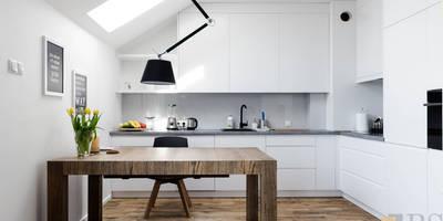 Nowoczesna kuchnia: styl , w kategorii  zaprojektowany przez PPHU BOBSTYL