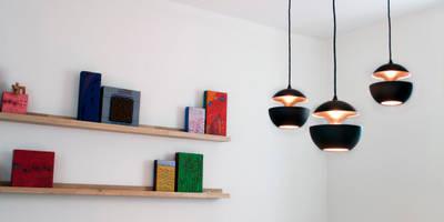 modern Living room by IJzersterk interieurontwerp