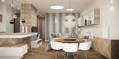MAKALU: styl , w kategorii Salon zaprojektowany przez Ludwinowska Studio Architektury