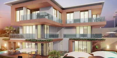 Vero Concept Architects – Villa Fenerburnu - Çeşme: modern tarz Evler