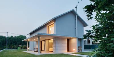 015_Abitazione singola lungo la Riviera Del Brenta: Case in stile in stile Moderno di MIDE architetti