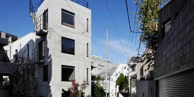 恵比寿の家(住宅+事務所): 腰越耕太建築設計事務所が手掛けた家です。