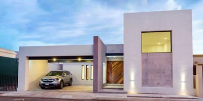 Casa Valle Verde: Casas unifamiliares de estilo  por Grupo Arsciniest