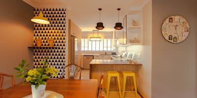 : modern Dining room by Redesign Interiors
