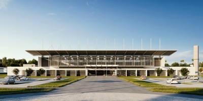 CMCV - Espaço Mutifuncional: Casas modernas por Martins Lucena Arquitetos