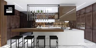 TAKE THE PLUNGE! | I | Wnętrza rezydencji | Projekt kuchni: styl , w kategorii Kuchnia zaprojektowany przez ARTDESIGN architektura wnętrz