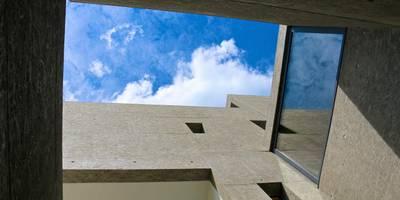 Hofausblick:  Einfamilienhaus von zeitwerkstatt gmbh