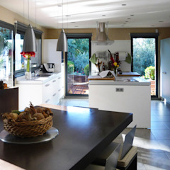 dom arquitectura Modern style kitchen