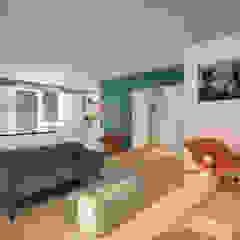 Marco D'Andrea Architettura Interior Design Ruang Keluarga Gaya Eklektik