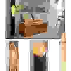 Lampensäule mit Blattvergoldung von Illusionen mit Farbe Ausgefallen