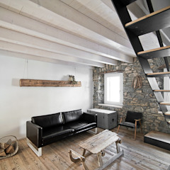 Salon moderne par MIDE architetti Moderne