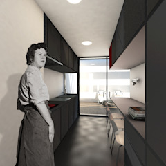 Q:NØ Arquitectos Kitchen