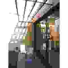 Allegre + Bonandrini architectes DPLG Modern balcony, veranda & terrace