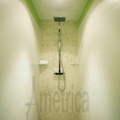 Eclectic style bathroom by Ametrica & Interior, S.L. Eclectic