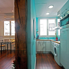 Eclectic style kitchen by Ametrica & Interior, S.L. Eclectic