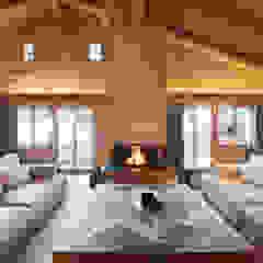 Chalet Gstaad Ardesia Design Salon rustique