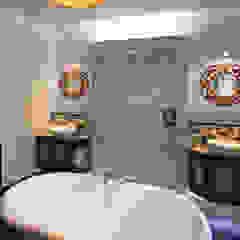 Hoxton Victorian Bathroom Inara Interiors Eclectic style bathroom