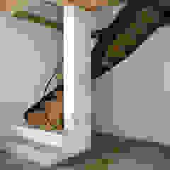 Rustic style corridor, hallway & stairs by Gabriele Riesner Architektin Rustic