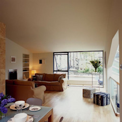 Hart Street House - living room ZONE Architects Houses