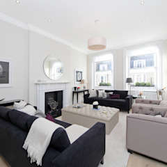 City appartment Modern living room by Hampstead Design Hub Modern