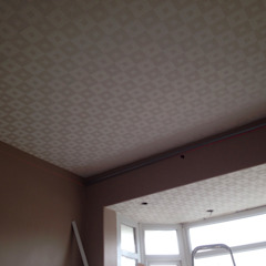 Starlight ceiling in 'movie room' Modern living room by Lancashire design ceilings Modern