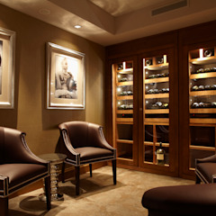 Wine Cellar Eclectic style wine cellar by Wilkinson Beven Design Eclectic