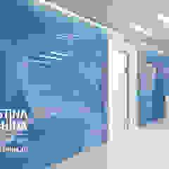 дизайн офиса WebMoney Офисы и магазины в стиле модерн от kristinavoloshina Модерн