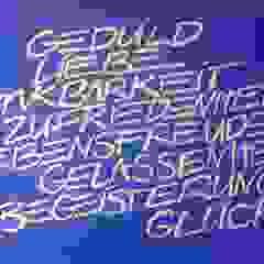Worte Wohnen & Kunst Moderne Esszimmer