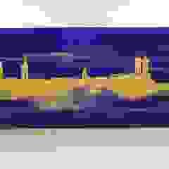 Skyline München Wohnen & Kunst Moderne Esszimmer