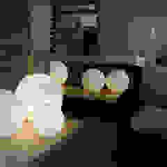 Modern Media Room by Laura Marini Architetto Modern