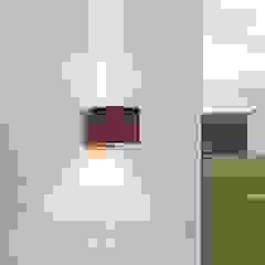 Rostbraune LED-Außenwandleuchte Jarno, Würfelform: modern  von Lampenwelt.de,Modern