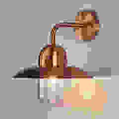 Schöne Kupferwandleuchte Camila für außen von Lampenwelt.de Landhaus