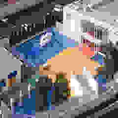 โดย ユミラ建築設計室 โมเดิร์น