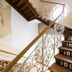 Wohnwert Innenarchitektur Couloir, entrée, escaliersEscaliers