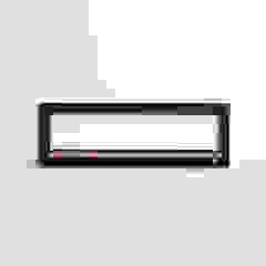 Fläpps Shelf 80x27x1 – Black AMBIVALENZ HouseholdStorage Kayu Lapis Black