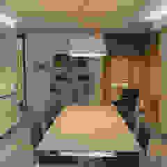 Living kitchen Arch. Massimo Bertola Cucina minimalista