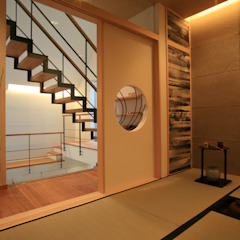Modern style media rooms by TERAJIMA ARCHITECTS Modern