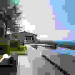 Villa CP by ZEST Architecture 러스틱 (Rustic)