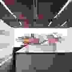 Well of Light Modern balcony, veranda & terrace by HYLA Architects Modern