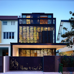 Natural Geometry Modern houses by HYLA Architects Modern