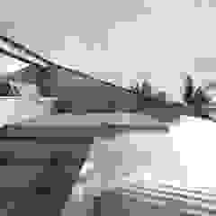 minimalist style balcony, porch & terrace by KA Arquitectos Minimalist