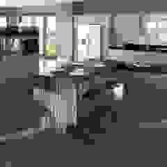 Modern Kitchen by Mackintosh par Kitchens Continental Ltd Moderne