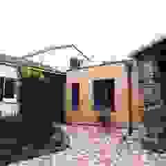 Maison façade bois atelier klam Maisons modernes