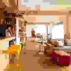 Ausgefallene Wohnzimmer von Zoom Urbanismo Arquitetura e Design Ausgefallen
