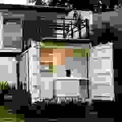 Loft-Container 20' Casas minimalistas por Ferraro Habitat Minimalista