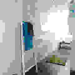 Bad - nachher Industriale Badezimmer von raum² - wir machen wohnen Industrial