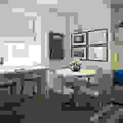 ЖК Отрада Столовая комната в скандинавском стиле от Massimos / cтудия дизайна интерьера Скандинавский